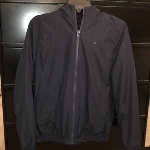 Lightly used, reversible Tommy Hilfiger jacket.